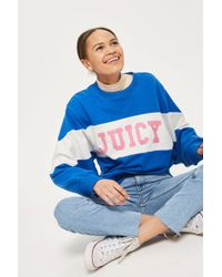 TOPSHOP - Colour Block Sweatshirt By Juicy By Juicy Couture - Lyst