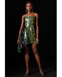 99a0206fc4 TOPSHOP - sequin Asymmetric Dress By X Halpern - Lyst