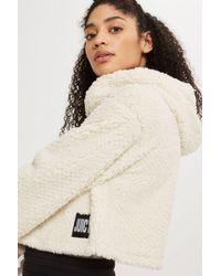 Juicy Couture - Sherpa Hoodie By Juicy La - Lyst