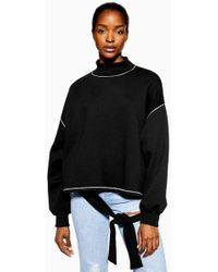 Native Youth - contrast Stitch Jumper By - Lyst