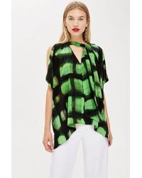 TOPSHOP - Tie Neck Scarf Top By Boutique - Lyst