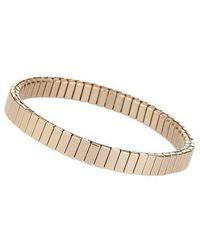 TOPSHOP - gold Ridge Stretch Bracelet - Lyst