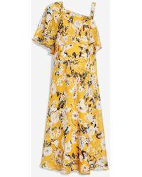 TOPSHOP - Maternity Nursing One Shoulder Dress - Lyst