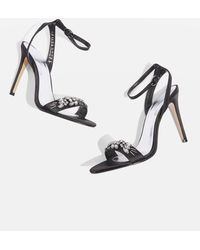 TOPSHOP - Missie Two Part Embellished Sandals - Lyst