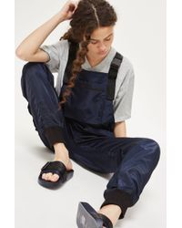 Ivy Park - Harness Dungarees By - Lyst