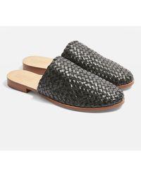 TOPSHOP - Kane Woven Flat Shoes - Lyst