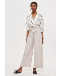 Love - Paperbag Waist Trousers By - Lyst