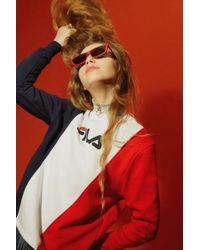 Fila - Cut And Sew Sweatshirt By - Lyst
