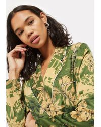 TOPSHOP - Petite Tropical Pyjama Trousers - Lyst