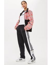 TOPSHOP - Adibreak Track Pants By Adidas - Lyst