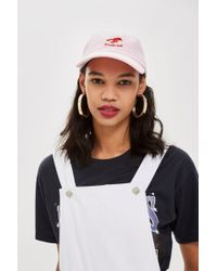 TOPSHOP - 'pinch Me' Lobster Embroidered Cap - Lyst