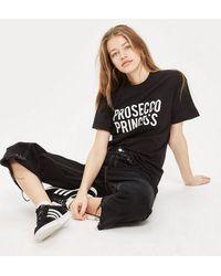 Love - 'prosecco Princess' Slogan T-shirt By - Lyst