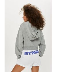 Ivy Park - Chenille Logo Shorts By - Lyst