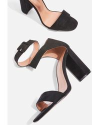 TOPSHOP - Sinitta Cross Over Sandals - Lyst