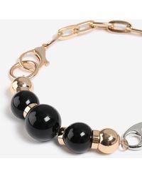 TOPSHOP - heavy Ball Linked Collar - Lyst