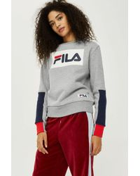 Fila - Exclusive Logo Sweatshirt By - Lyst