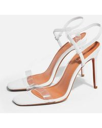 TOPSHOP - Satine Square Toe Sandals - Lyst