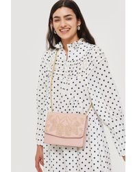 TOPSHOP - Pinstud Shoulder Bag - Lyst