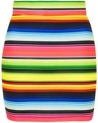 Jaded London - Rainbow Stripe Mini Skirt By - Lyst