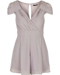 TFNC London - Hadie Playsuit By - Lyst
