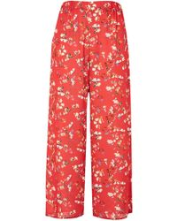 Oh My Love - Printed Trousers By - Lyst