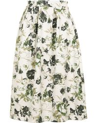 Wal-G | Floral Co-ord Pleated Midi By | Lyst
