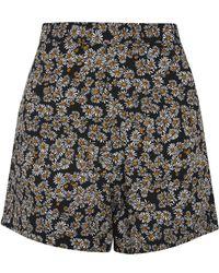 Wyldr - Clock Work Daisy Shorts By - Lyst