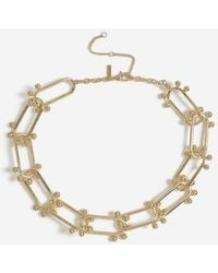 TOPSHOP - oval Ball Link Necklace - Lyst