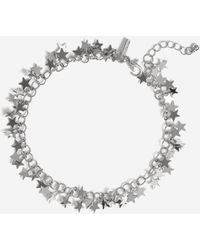 TOPSHOP - star Chain Anklet - Lyst