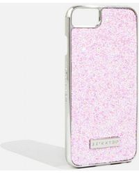 TOPSHOP - Ana Glitter Case - Iphone 6/6s/7 Plus And 8 Plus By Skinnydip - Lyst