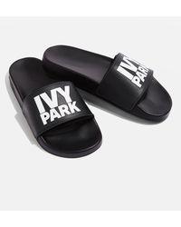 Ivy Park - Logo Slider Shoes By Ivy Park - Lyst