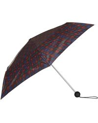 TOPSHOP   Check Umbrella   Lyst