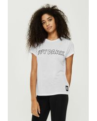 Ivy Park - Silicon Logo T-shirt By - Lyst