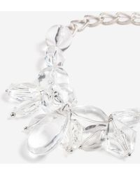 TOPSHOP - Organic Crystal Collar Necklace - Lyst