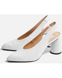 389cba3139c3 TOPSHOP - Grin Slingback Shoes - Lyst