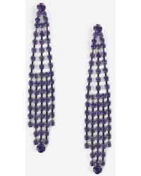 TOPSHOP - Cup Chain Drape Earrings - Lyst