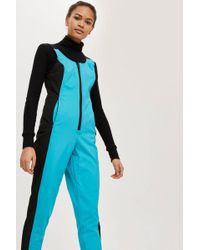 TOPSHOP - Sno All In One Ski Suit - Lyst