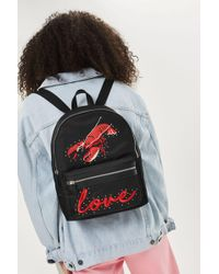 TOPSHOP | Lobster Nylon Backpack | Lyst
