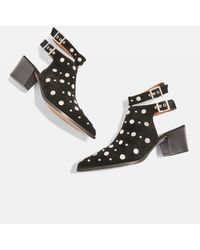 TOPSHOP - Mischief Ankle Boots - Lyst