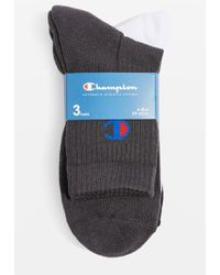 TOPSHOP - 3 Pack Sheer Socks By Champion - Lyst