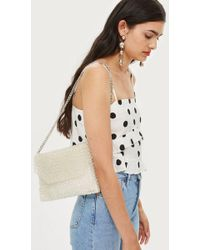 TOPSHOP - Beaded Shoulder Bag - Lyst