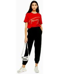 TOPSHOP - 90's Oversized Joggers - Lyst
