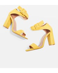 TOPSHOP - Wide Fit Sinitta Two Part Sandals - Lyst
