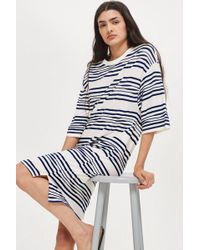 Native Youth - Striped Jersey Dress By - Lyst