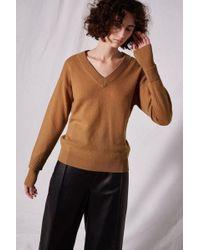 TOPSHOP - V-neck Cashmere Jumper By Boutique - Lyst