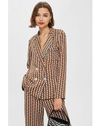 TOPSHOP - Geometric Print Pyjama Trousers - Lyst