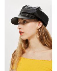 TOPSHOP - Slouchy Baker Boy Hat - Lyst