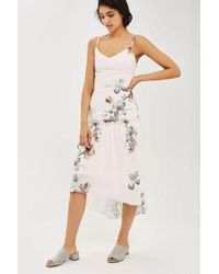 Hope and Ivy - tiered Camisole Dress In Floral Print By Hope & Ivy - Lyst