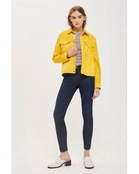 TOPSHOP - Petite Indigo Leigh Jeans - Lyst