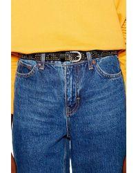 TOPSHOP - Studded Belt - Lyst